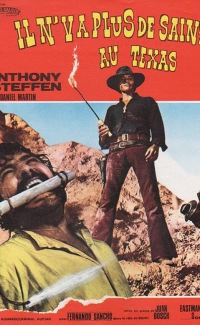 Affiche du film il n'y a plus de saints au Texas