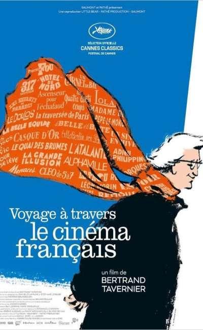 Affiche de Voyage à travers le cinéma français de Bertrand Tavernier