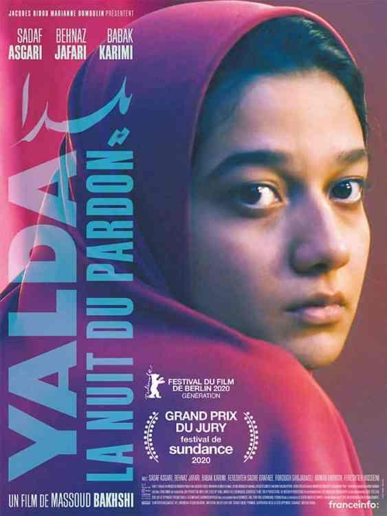 Yalda, la nuit du pardon, affiche du film