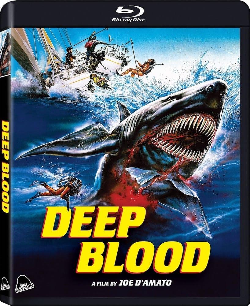 Deep Blood (Sangue negli abissi) : blu-ray Severin
