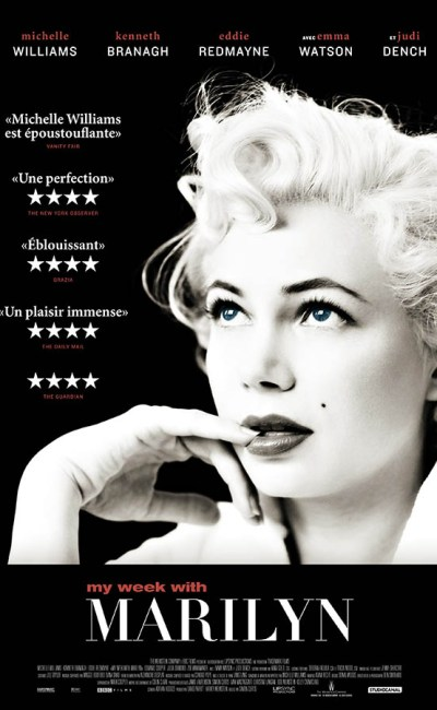My Week With Marilyn, affiche