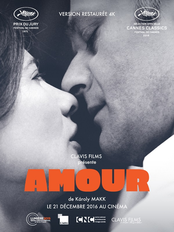 Affiche française (reprise) de Amour de Károly Makk