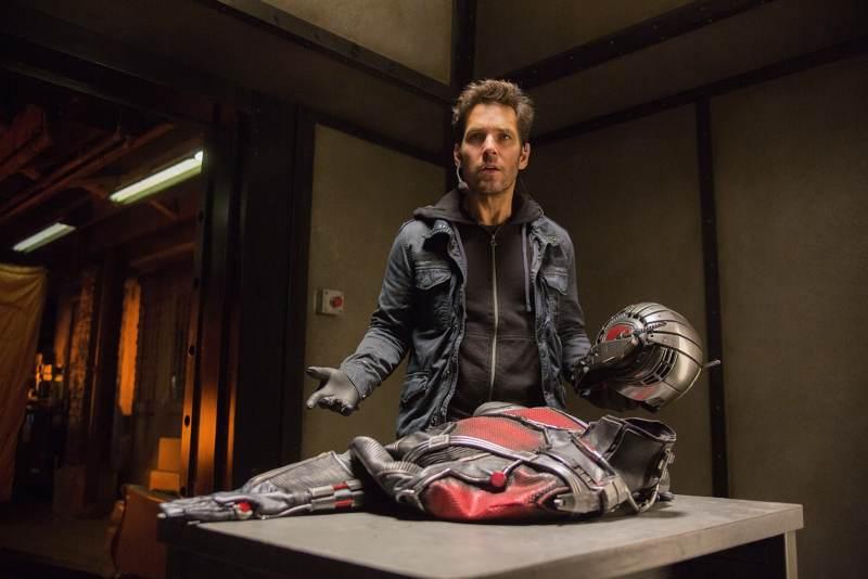Paul Rudd est Ant-Man