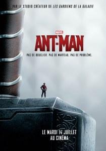Affiche teaser du marteau de Thor de Ant-Man