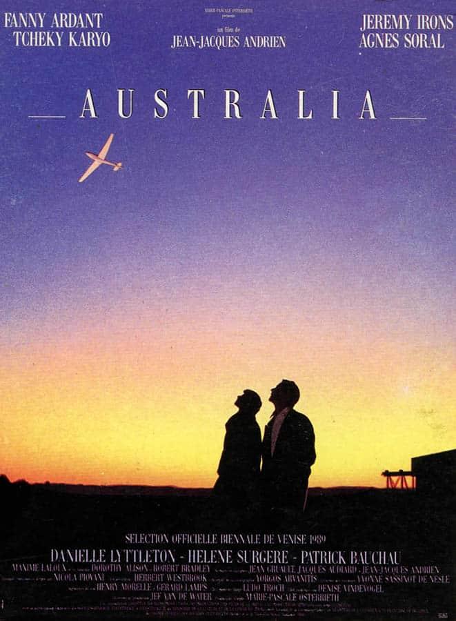 Australia (1989), affiche du film