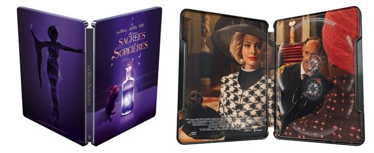 Sacrées sorcières en blu-ray steelbook
