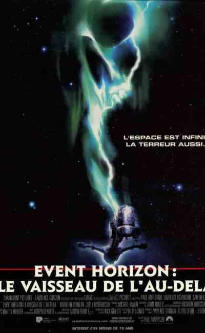 Event Horizon : le vaisseau de l'au-delà, affiche