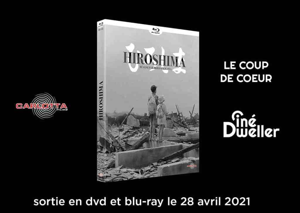 Hiroshima en dvd et blu-ray Carlotta (avril 2021)