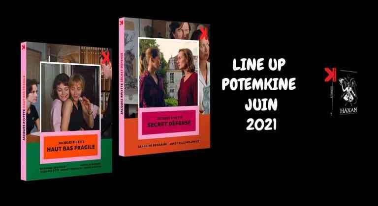 Potemkine Juin 2021 : deux Rivette, Häxan et Ne vous retournez-pas