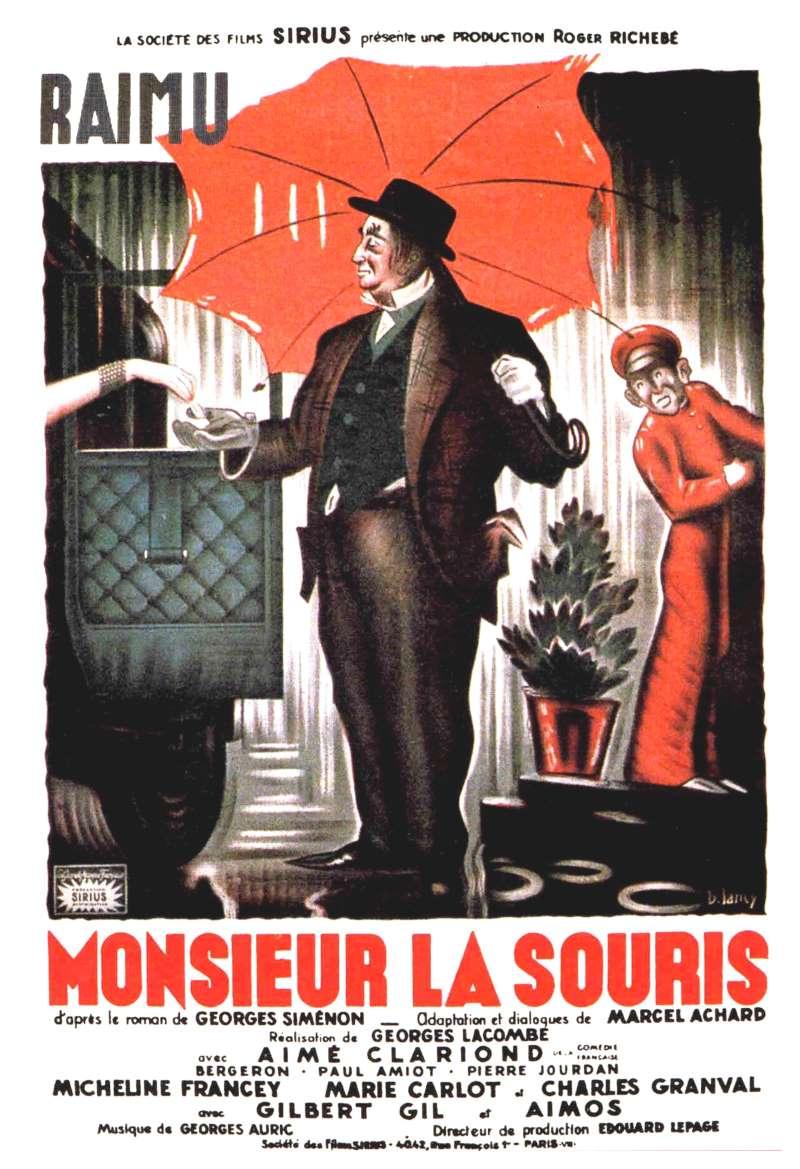 Monsieur La Souris, l'affiche