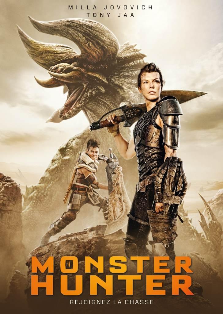 Monster Hunter, artcover vod