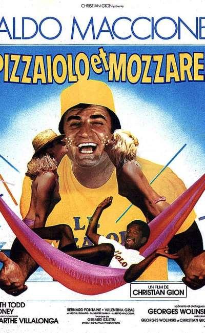 Pizzaiolo et Mozzarel, l'affiche 120 X 160