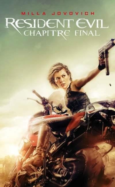 Resident Evil Chapitre final artcover VOD