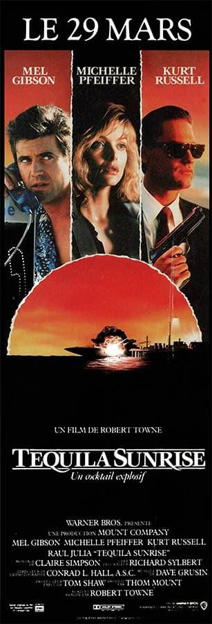 Tequila Sunrise avec Mel Gibson, Michelle Pfeiffer, Kurt Russell, Affiche pantalon