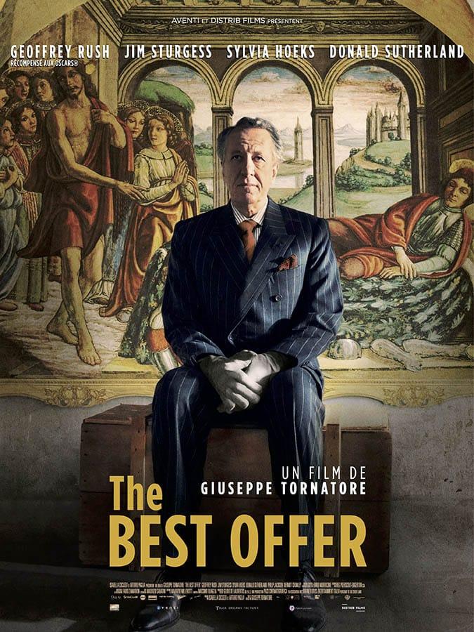 The Best Offer, affiche du film