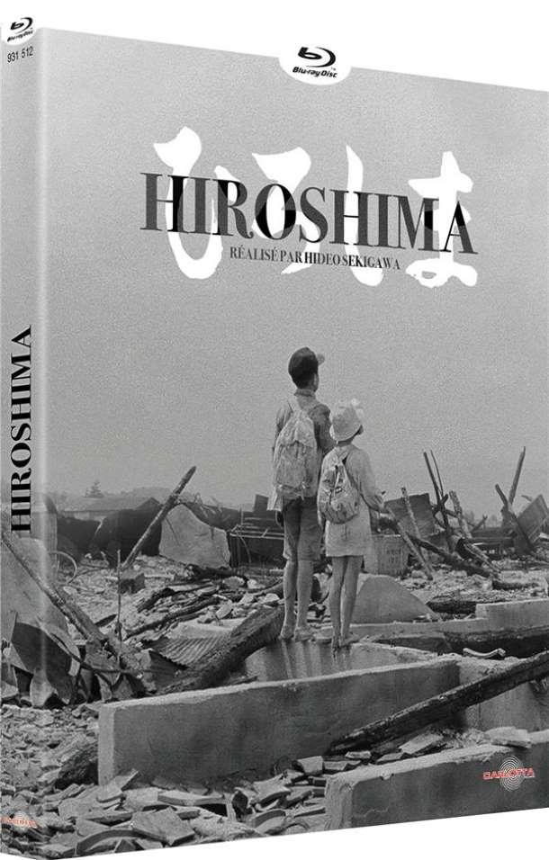 Hiroshima, jaquette blu-ray