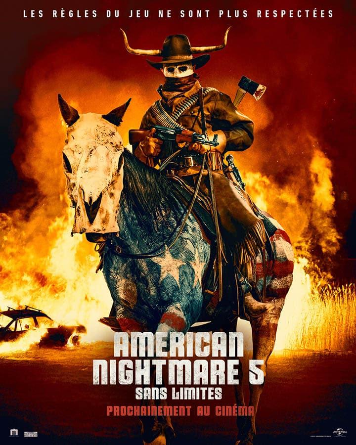 American Nightmare 5 Sans Limites, affiche 2021