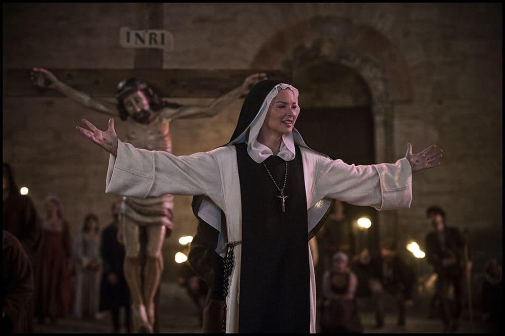 Benedetta, Virginie Efira et Jesus-Christ