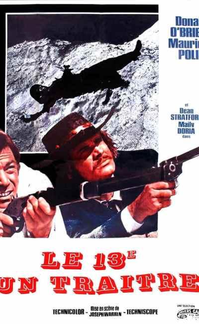 Le 13e est un traitre, affiche du film de Giuseppe Vari