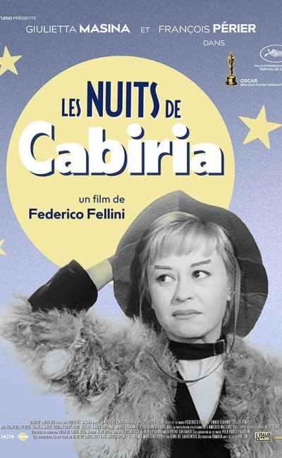 Les Nuits de Cabiria, affiche reprise 2019 (Tamasa)