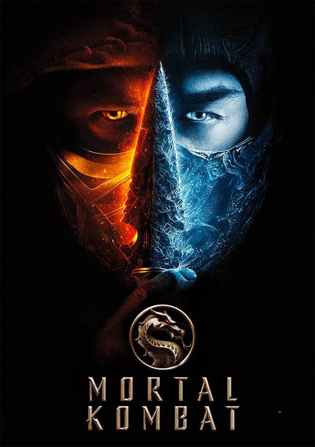 Mortal Kombat affiche digitale France