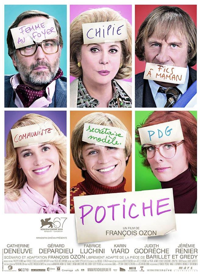 Potiche, affiche du film de François Ozon