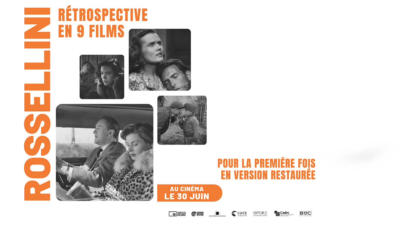 Rosselini rétrospective en 9 films (Bac Films) 2021