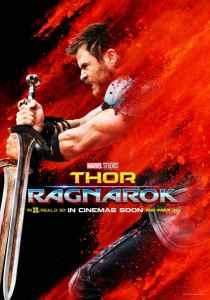 Thor : Ragnarok, affiche personnage Thor