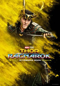 Thor : Ragnarok, affiche personnage de Loki
