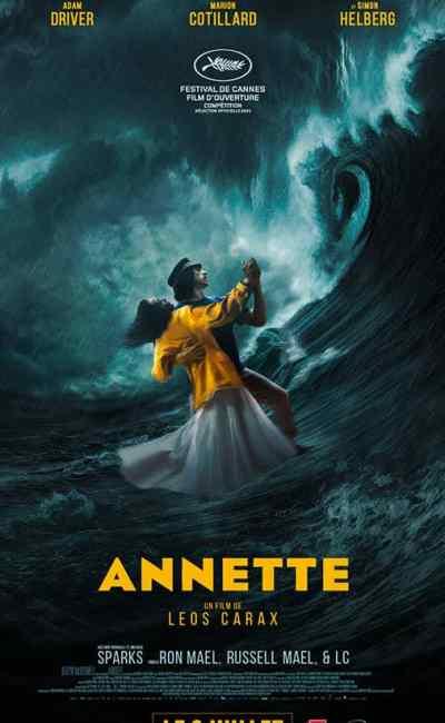 Annette, affiche pantalon