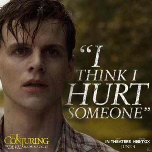Ruairi O'Connor dans Conjuring 3 sous l'emprise du diable