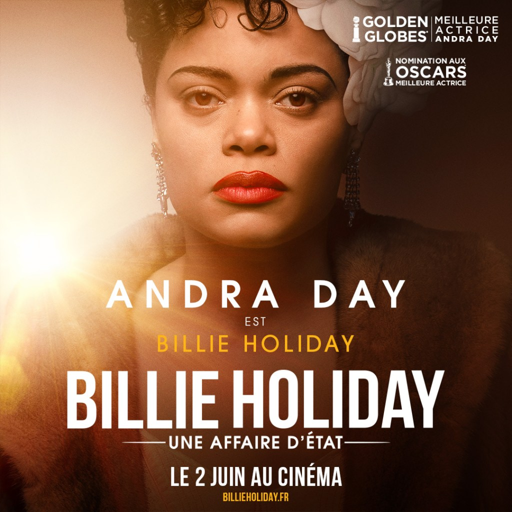 Andra Day dans Billie Holiday