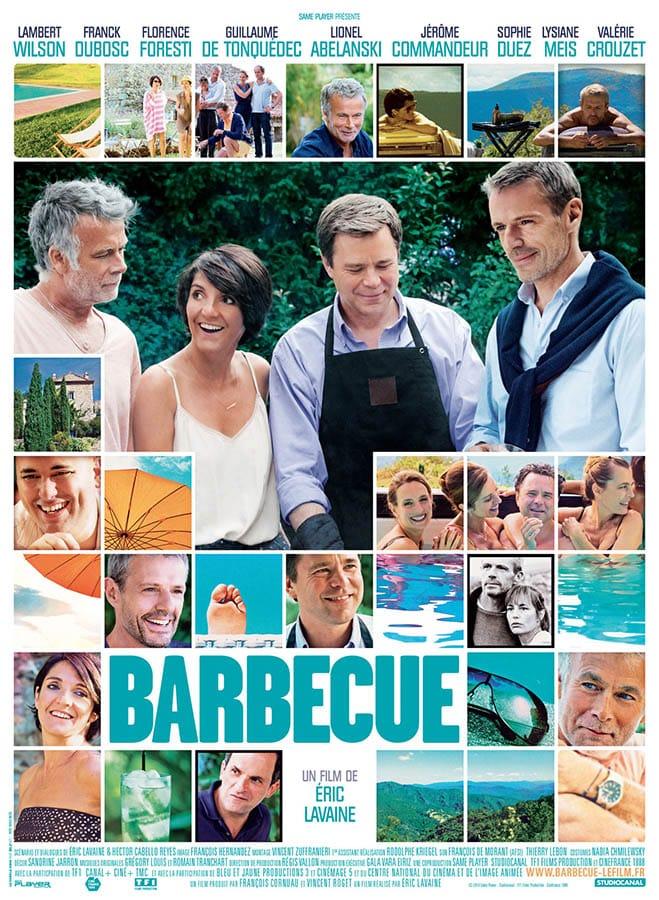 Barbecue d'Eric Lavaine (2014), affiche
