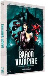 Baron vampire, jaquette blu-ray