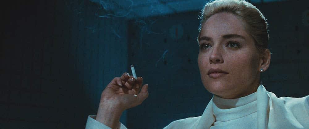 Séquence d'interrogatoire pour Sharon Stone dans Basic Instinct (1992)