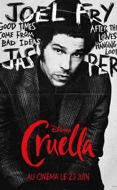 Cruella, affiche personnage Joel Fry