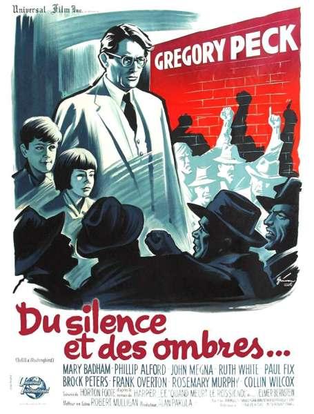 Du silence et des ombres, l'affiche 1963
