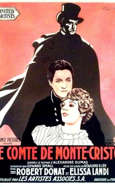 Le comte de monte cristo, affiche du film de 1934