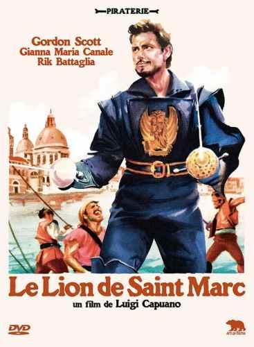 Le lion de Saint Marc, jaquette DVD