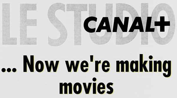 Le studio Canal +, logo 1992