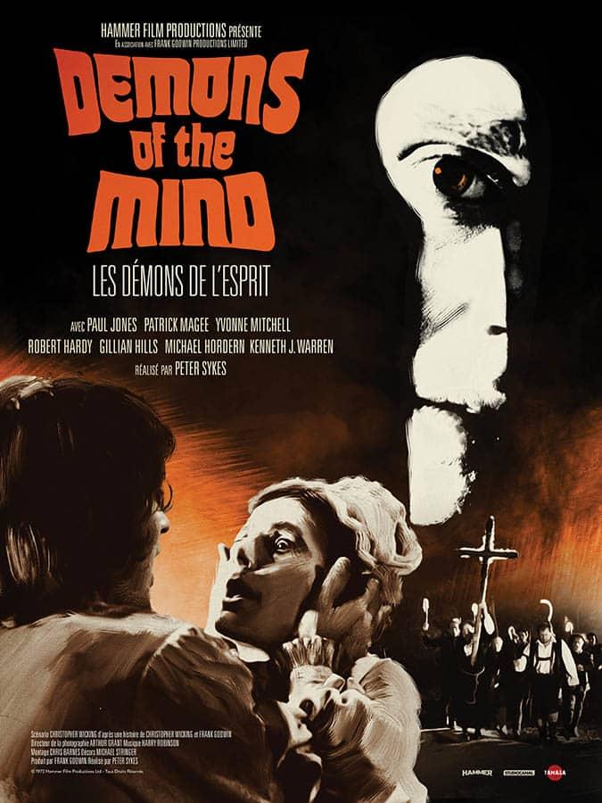 Affiche de Les démons de l'esprit (demons of the mind)