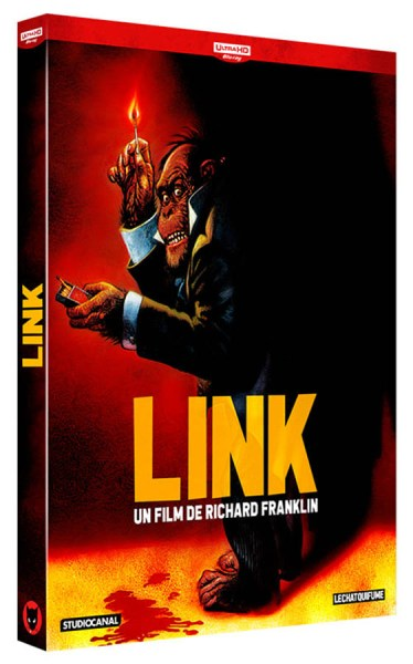 Link, blu-ray, le Chat qui fume