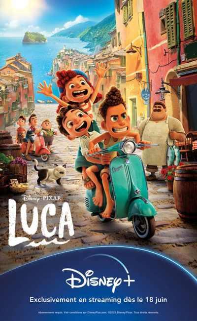 Lucas, affiche streaming Disney+