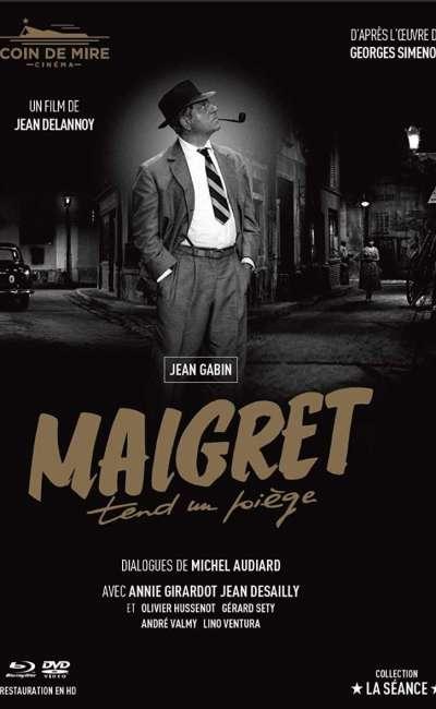 Maigret tend un piège, mediabook
