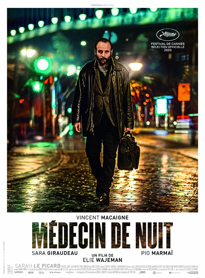 Médecin de nuit, affiche du film d'Elie Wajeman