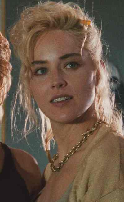 Sharon Stone dans Basic Instinct (1992)