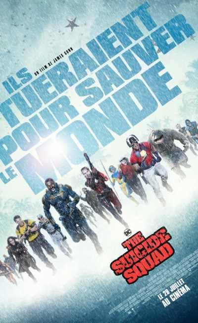 The Suicide Squad - affiche (2021)
