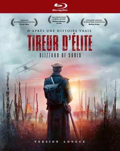 Tireur d'élite, jaquette director's cut (verison longiue) - blu-ray