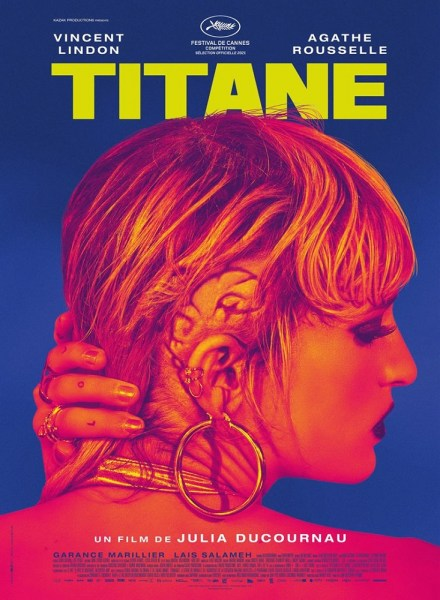 Affiche de Titane de Julia Ducournau