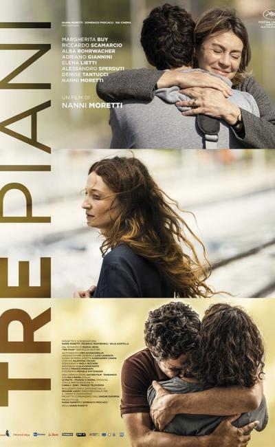 Afffiche française de Tre piani de Nanni Moretti